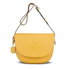 loewe heritage satchel yellow - Buscar con Google