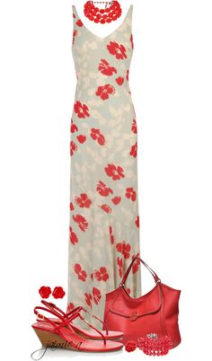 """""""Red Floral Maxi Dress"""" Come on skinny, Patty Red Floral Maxi Dress, Red Sleeveless Dress, Dress Red, Maxi Dresses, Wedding Dresses, Hot Outfits, Classy Outfits, Fashion Outfits, Cute Fashion"""