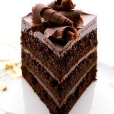 Our best chocolate dessert recipes include a rich rich chocolate layer cake and easy fudgy chocolate brownies. Plus more chocolate desserts. Cupcakes, Cupcake Cakes, Layer Cake Recipes, Dessert Recipes, Cupcake Recipes, Ultimate Chocolate Cake, Coconut Dessert, Chocolate Desserts, Cake Chocolate