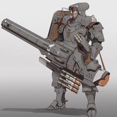 Bruno Gauthier Leblanc is an art director at Eidos Montreal, the studio behind Deus Ex: Human Revolution, Thief and Deus Ex: Mankind Divided. Armor Concept, Concept Art, Monster Hunter, Character Concept, Character Art, Arte Cyberpunk, Futuristic Armour, Cyberpunk Character, Sci Fi Armor