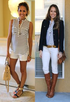 Summer vs. Winter from @J's Everyday Fashion