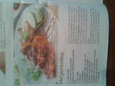 Piri Piri kylling Piri Piri, Frisk, Tacos, Mexican, Ethnic Recipes, Food, Cilantro, Essen, Meals
