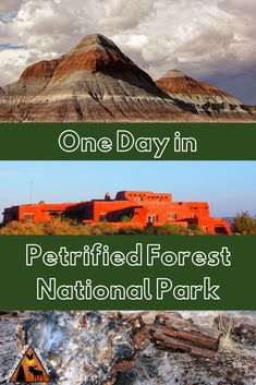One Day in Petrified Forest National Park Heading down Historic Route 66 and planning to stop at the Petrified Forest? Check out how to spend one day in Petrified Forest National Park, Arizona. Arizona Road Trip, Arizona Travel, Vacation Places In Usa, Voyage Usa, Visit Arizona, Arizona Usa, Petrified Forest National Park, National Parks Usa, California Travel