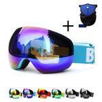 Professional Ski Goggles Double Lens