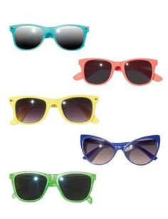 Colorful sunnies