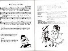 královský bál Music Notes, Bali, Ecards, Songs, Activities, Memes, Carnivals, E Cards, Sheet Music