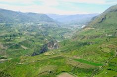 I went to Peru in 2006, this is the Colca Canyon near Chivay
