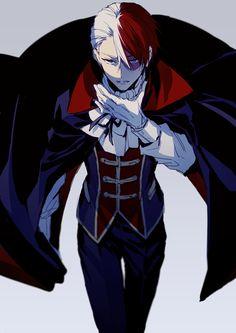 oh  dang .vampire edition lol. Boku no hero academia