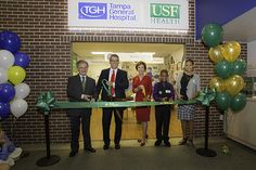 TGH and USF Health celebrated the grand opening of our new JA Biztown storefront as visiting students explored the new space.
