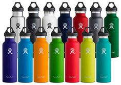 Bend, OR (February, 2016) – Hydro Flask, the award-winning leader in high-performance, insulated stainless steel flasks, is excited to introduce 11 new refreshingly bold colors across its hydration, coffee, beer and food collections. The new hues include Cobalt, Lava, Graphite, Read More ...