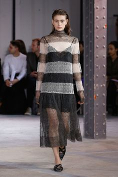 The complete Anaïs Jourden Fall 2018 Ready-to-Wear fashion show now on Vogue Runway.
