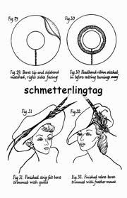 "millinery patterns - Google Search ✿••The patterns that are for regular size will also work for doll size.  They are just ""shrunk down"" and they work great ..•♥°.... Nims.... °♥•"