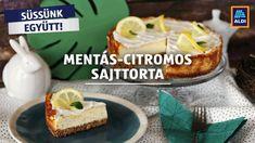 Mentás-citromos sajttorta - ALDI Receptek. Jobban. Okosabban Ale, Pudding, Baking, Food, Youtube, Ale Beer, Custard Pudding, Bakken, Essen