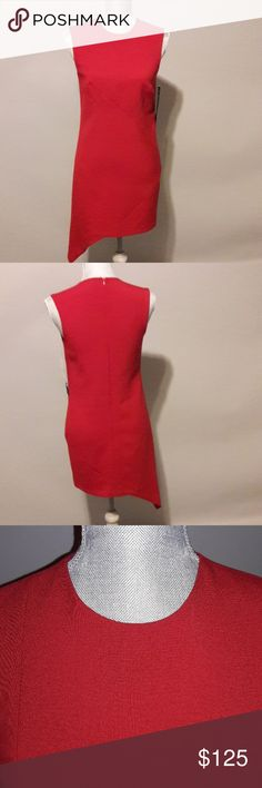Nicole Miller Assymetrical Dress with Tags Nicole Miller Assymetrical Dress with tags, no size on dress but fits size SMALL mannequin! Nicole Miller Dresses Midi
