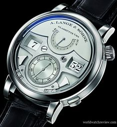 A. Lange & Sohne Zeitwerk Striking Time in Platinum (Ref. 145.025)