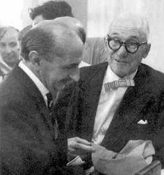 Lucio Costa and Le Corbusier