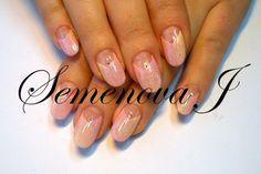 Nageldesign Yulia 2014 Milchig Pink