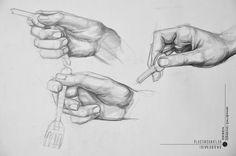 Tumblr Cartoon, Hand Reference, Anatomy Drawing, Hand Sketch, Human Art, Drawing People, Cartoon Drawings, Art Sketches, How To Draw Hands