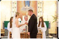wedding ceremony, bride and groom, our lady of mount carmel, ct wedding photographers, ny wedding photographers, wedding vows