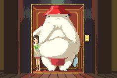 ジブリ映画を8ビット化。父としてのプライドをかけたファンアート « WIRED.jp