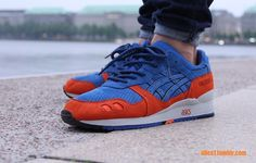 asics gel lyte III x Ronnie Fieg collaboration. #sneakers New York Knicks.
