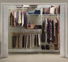 Amazon.com - ClosetMaid 5' to 8' Adjustable Shelf Track Closet Organizer - Closet Storage And Organization Systems