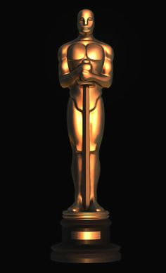 Oscar. Academy Awards. 3D model for CNC milling machine. MoI (Moment of Inspiration), ZBrush. Private order.