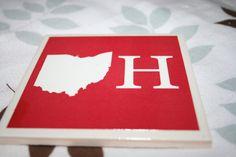 O-H coaster by #elegantelliephant #ohio