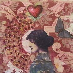 Kanchan Mahon23 Hand cut paper collages by Kanchan Mahon
