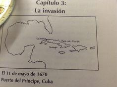 Mapa de la Habana y Puerto de Príncipe