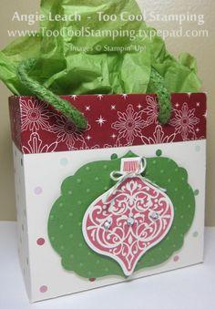 Mini Gift Bags - Ornament
