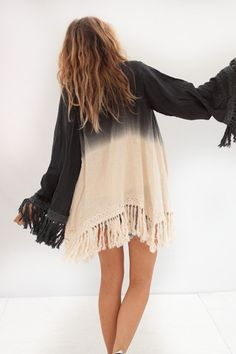 nico jacket // ombre so pretty!