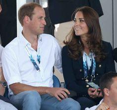 Just look at Kate gazing lovingly at him.