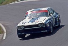 Ford Capri RS 3100 of Jochen Mass and Dieter Glemser 1973