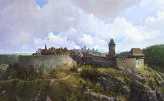 ArtStation - Kingdom come: Deliverance concept art batch, Simon Gocal