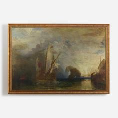 'Ulysses deriding Polyphemus- Homer's Odyssey' Framed Print - National Gallery from £170 | Shop Canvases & Wall Murals at surfaceview.co.uk