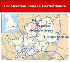 Commanderies templières dans l'Angleterre de l'Est