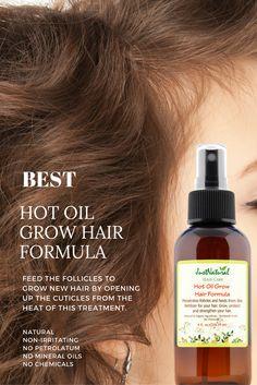 Hot Oil Grow Hair Formula | Oils | Just Nutritive