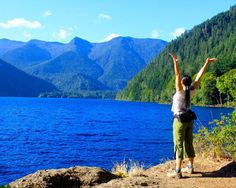 Celebrating the beauty of Olympic National Park.