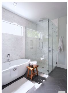 Grey and white bathroom ideas grey and white bathroom tiles gray white bathroom transitional bathroom image . grey and white bathroom ideas Modern Farmhouse Bathroom, Rustic Farmhouse, Urban Farmhouse, Farmhouse Small, Modern Farmhouse Design, Farmhouse Front, Farmhouse Ideas, Transitional Bathroom, Transitional Homes