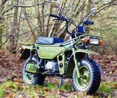 restored Honda Motra