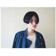 Very Short Hair, Short Hair Cuts, Hair Inspo, Hair Inspiration, Androgynous Haircut, Shot Hair Styles, Japanese Hairstyle, Hair Reference, Hair Photo