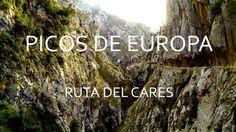 Winter walk along the Cares Gorge, Picos De Europa, Asturias and León, Spain