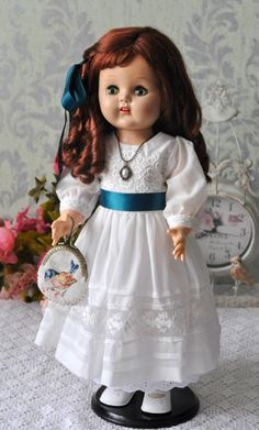 Старинная шагающая кукла / Антикварные куклы, реплики / Шопик. Продать купить куклу / Бэйбики. Куклы фото. Одежда для кукол