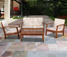 """$683 """"Patio 7 Piece Dining Set: Enrich your home with class and elegance from Sears."""