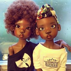 """Black Mom Creates Natural Hair Doll For Her Daughters To Raise ..."""""""