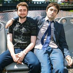 Hot: Daniel Radcliffe rode around New York City with his Swiss Army Man corpse