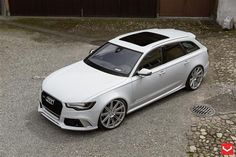 Audi RS6 on VVSCV4 Wheels