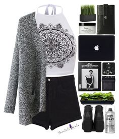 """""""Beautifulhalo #18"""" by justonegirlwithdreams ❤ liked on Polyvore featuring philosophy, Topshop, Bed Head by TIGI, NARS Cosmetics, Crate and Barrel, Charbonize and beautifulhalo"""