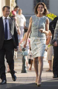 Princess Caroline of Monaco..chic in Chanel.